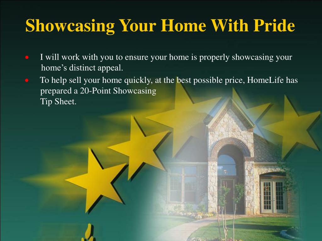 Showcasing Your Home With Pride