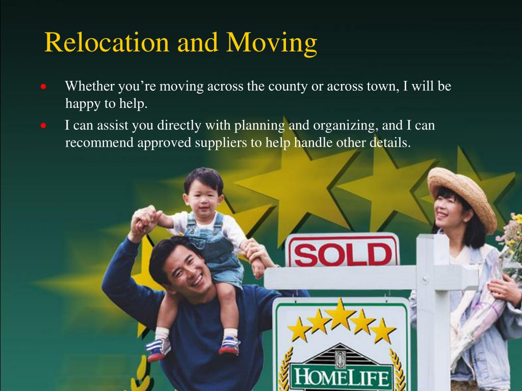 Relocation and Moving