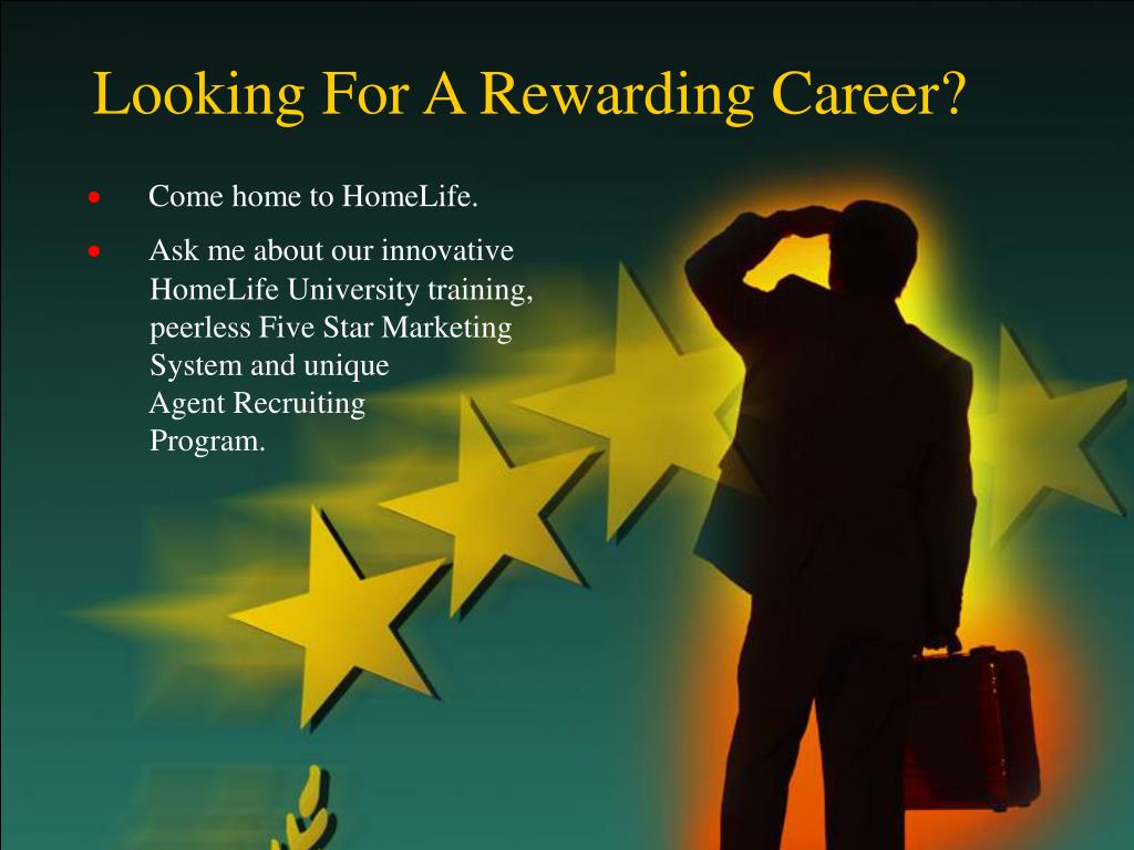 Looking For A Rewarding Career?