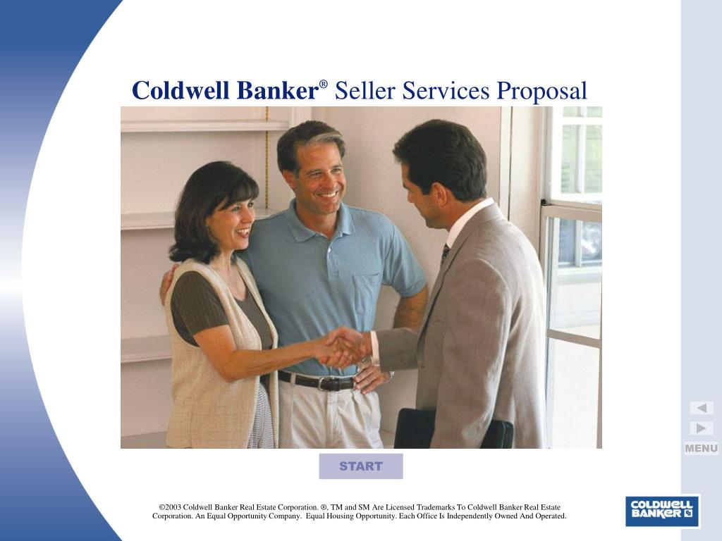 coldwell banker seller services proposal