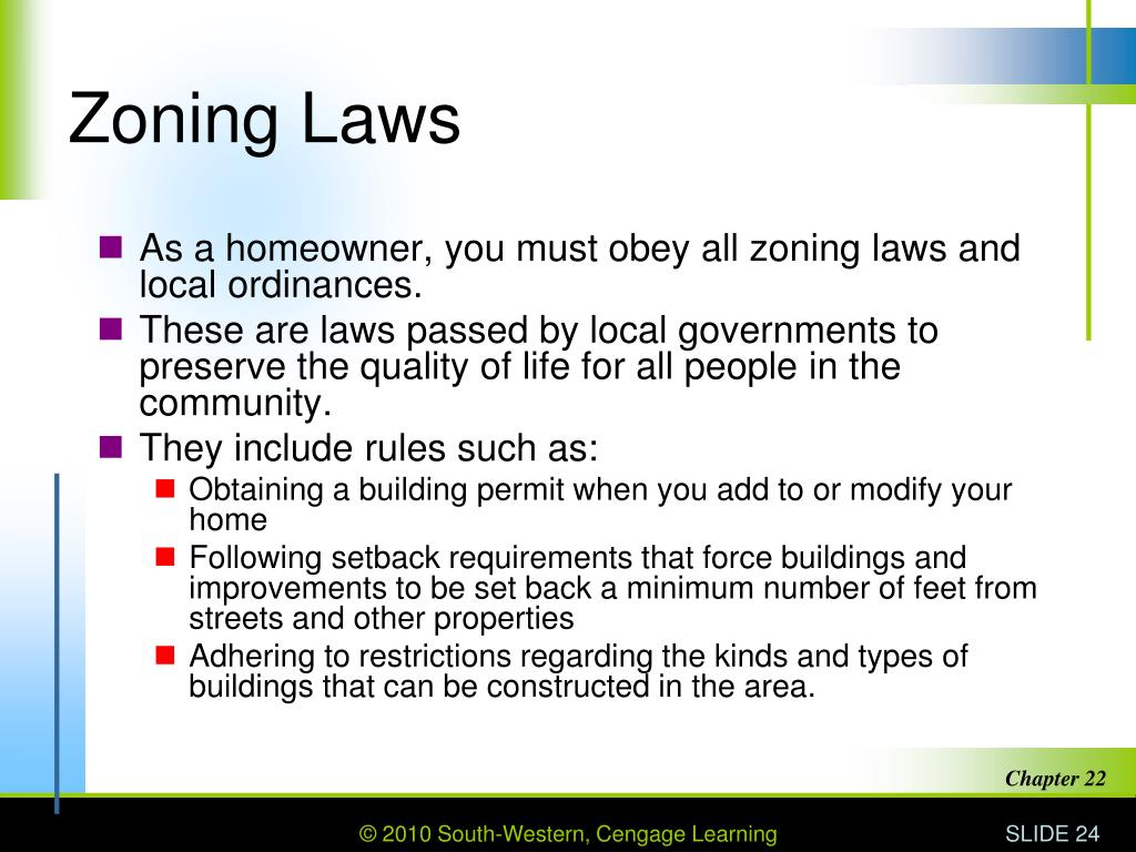 Zoning Laws
