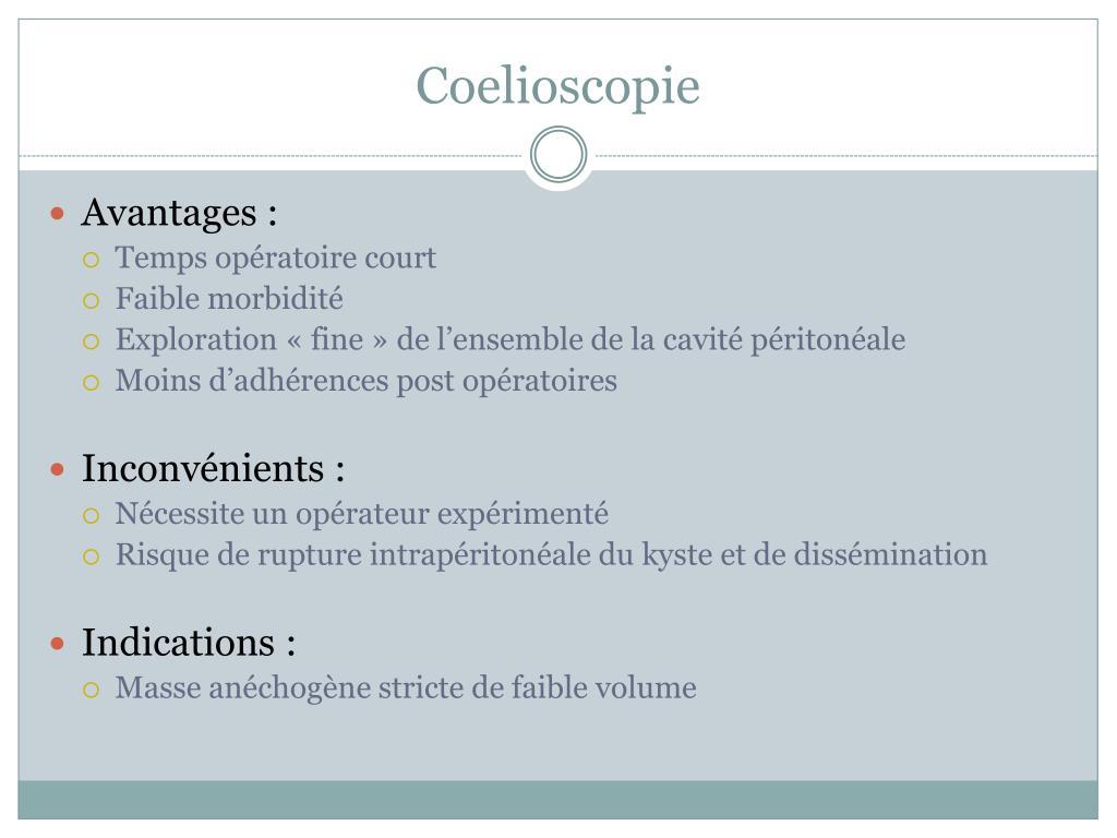 Coelioscopie