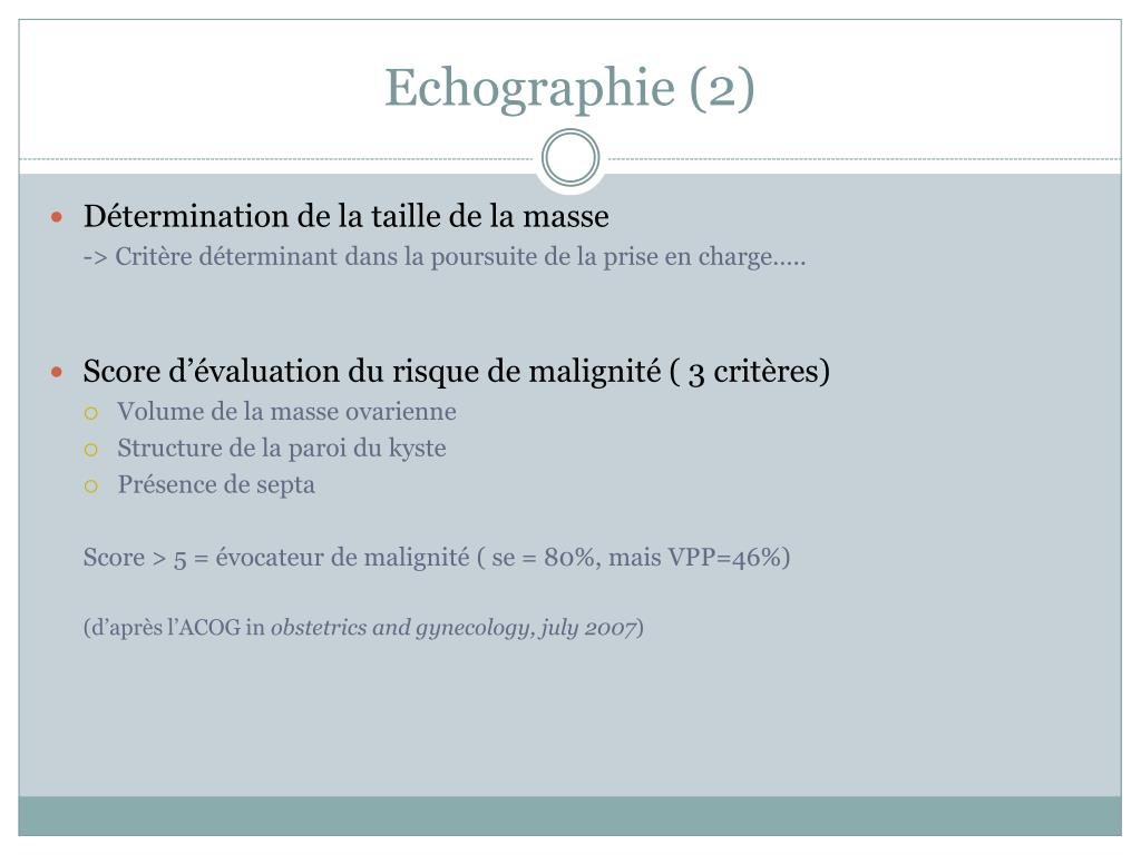 Echographie (2)