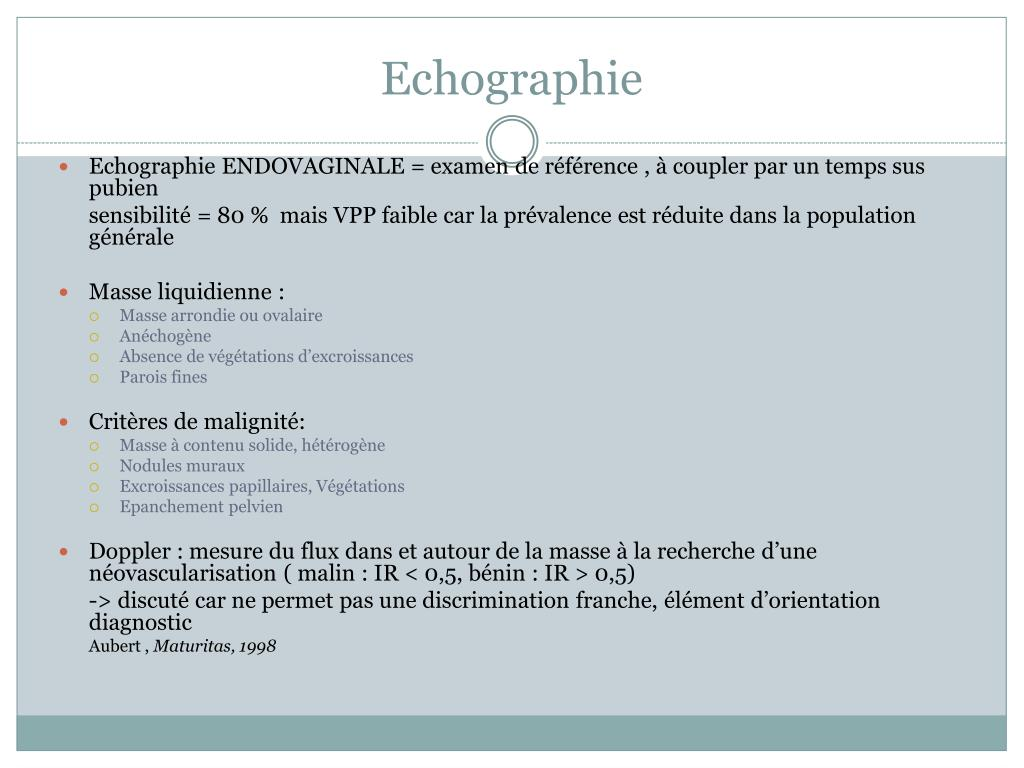 Echographie