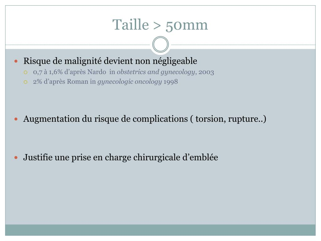 Taille > 50mm