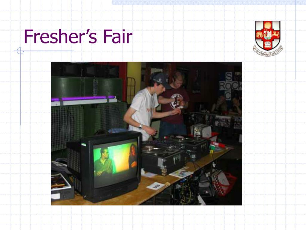 Fresher's Fair