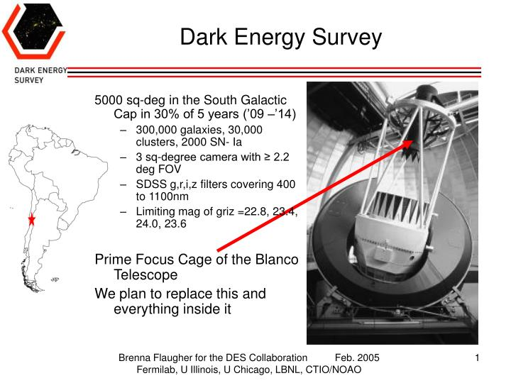 Dark energy survey l.jpg