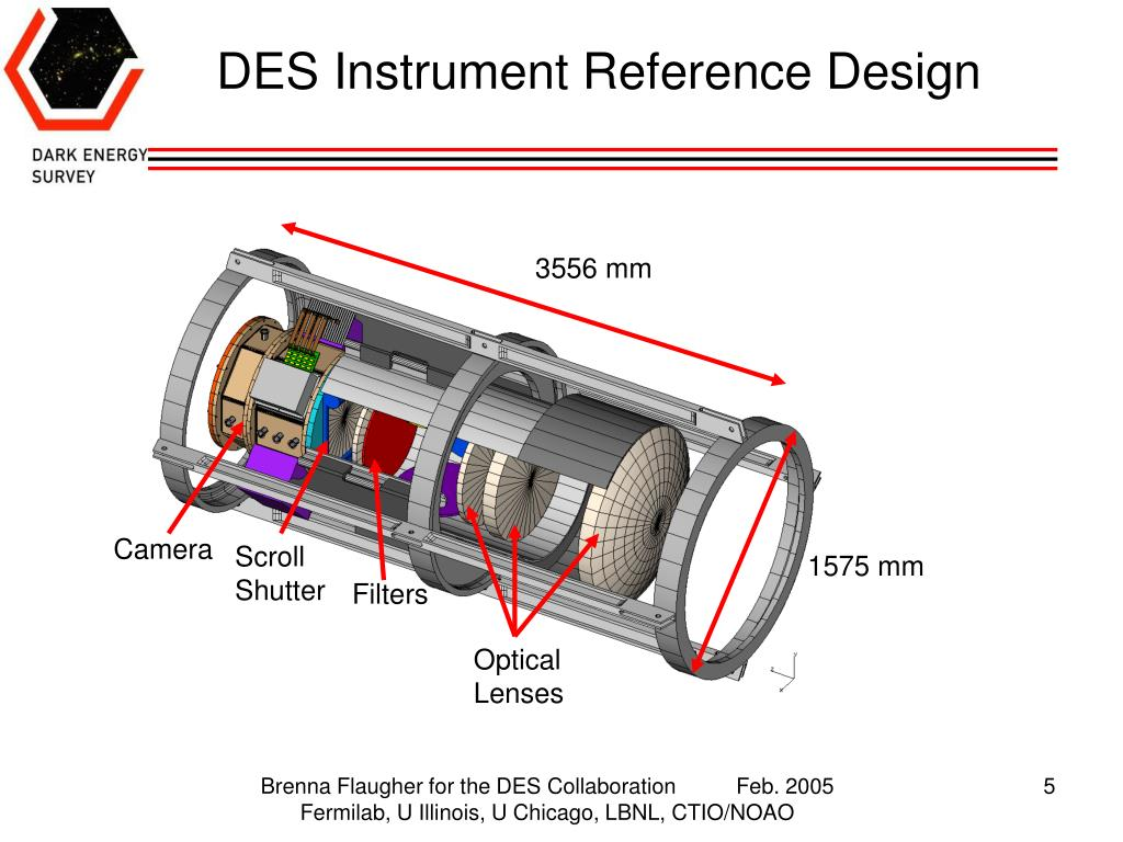 DES Instrument Reference Design