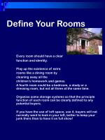 define your rooms