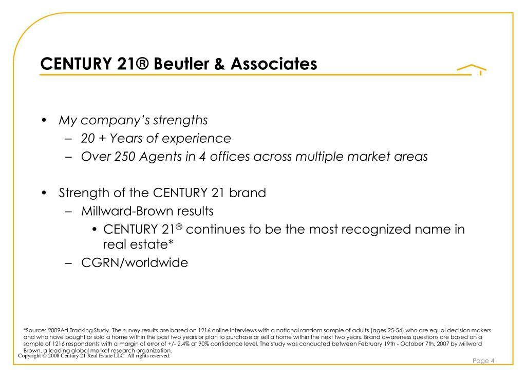 CENTURY 21® Beutler & Associates