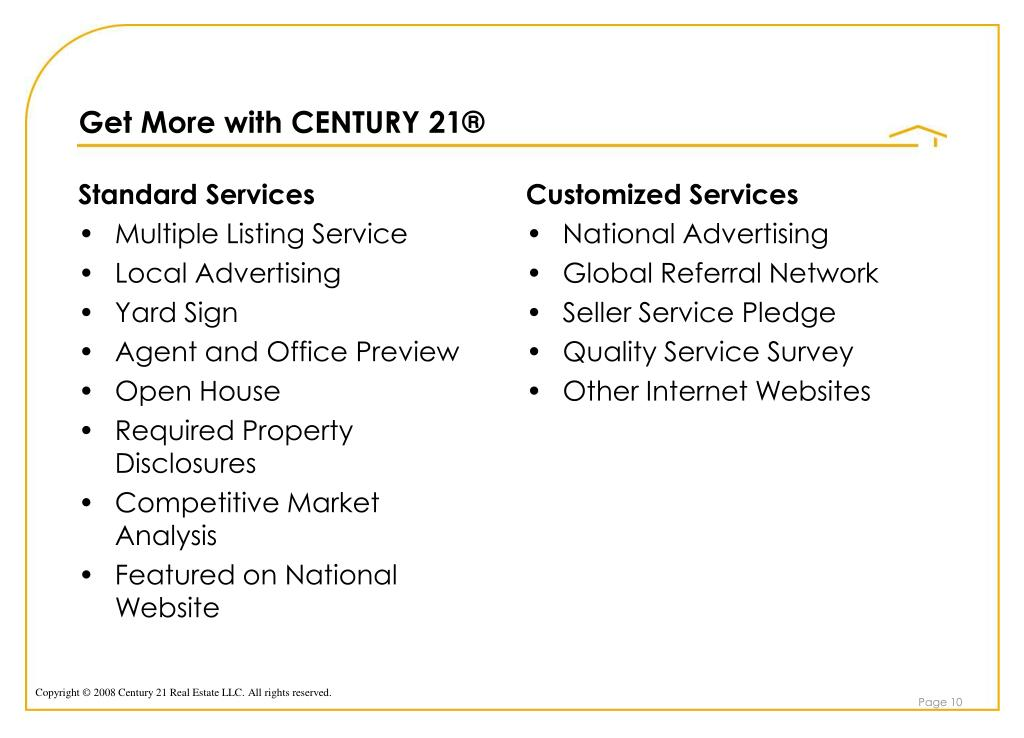 Get More with CENTURY 21®