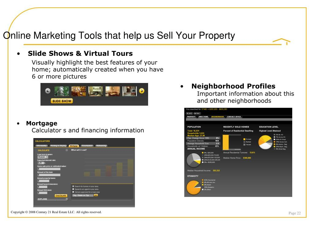 Online Marketing Tools that help us Sell Your Property