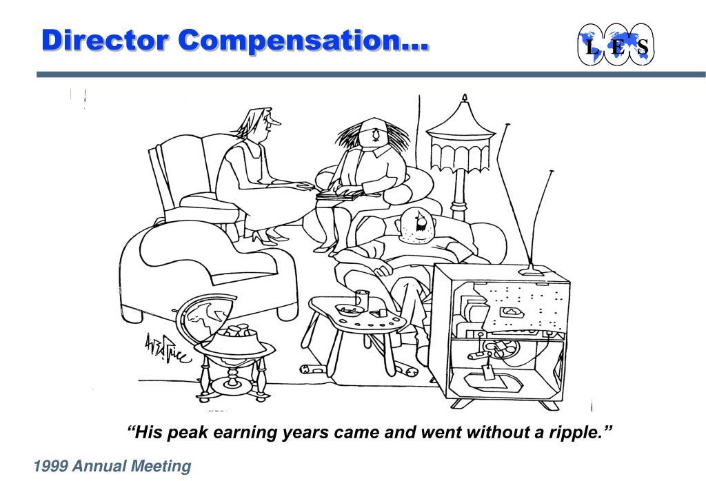 Director Compensation...