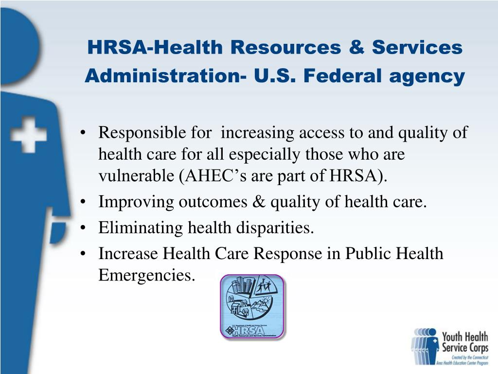 HRSA-Health Resources & Services Administration- U.S. Federal agency