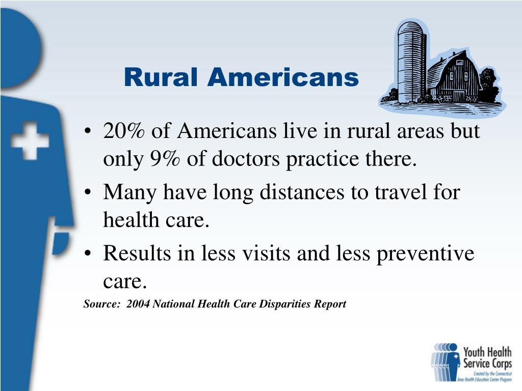 Rural Americans