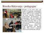 biserka halavanja pedagogue