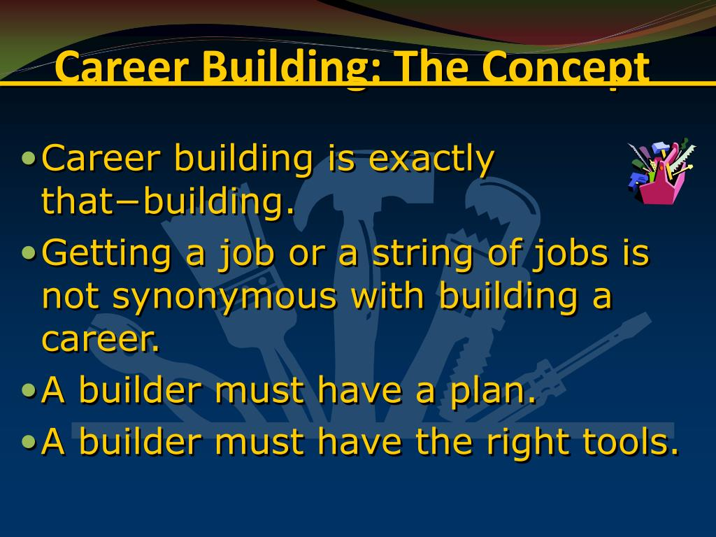 Career Building: The Concept