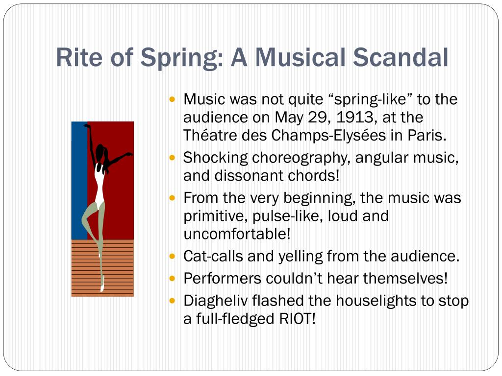 Rite of Spring: A Musical Scandal