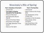 stravinsky s rite of spring