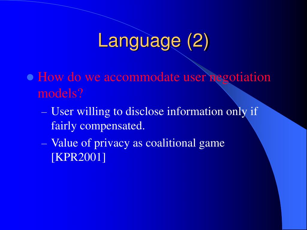 Language (2)
