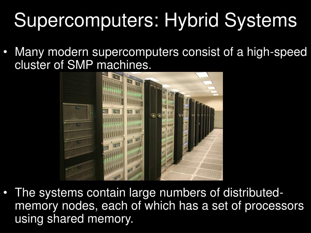 Supercomputers: Hybrid Systems