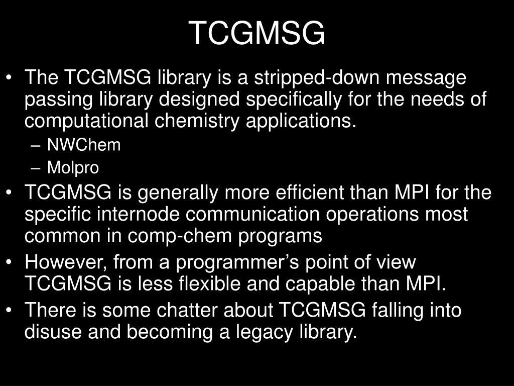 TCGMSG