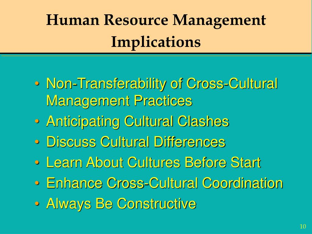 human resource management and culture Factors that shape an organization's culture considerations in creating and  managing organizational culture hr practices to ensure the.