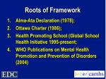 roots of framework