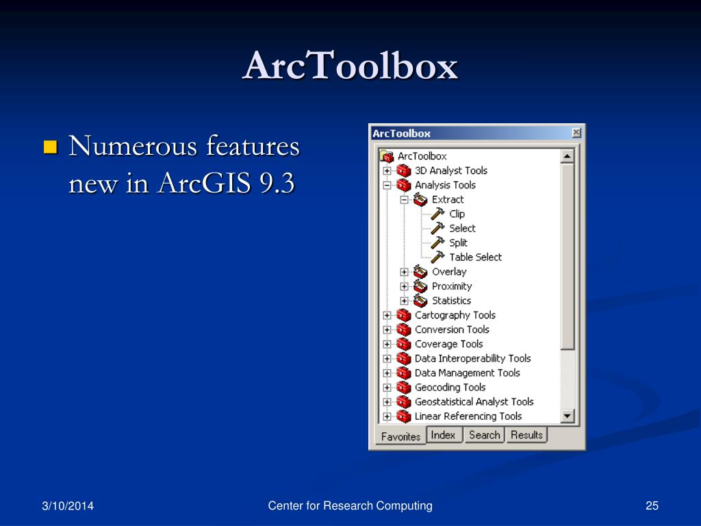 ArcToolbox