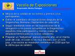 vocal a de exposiciones52