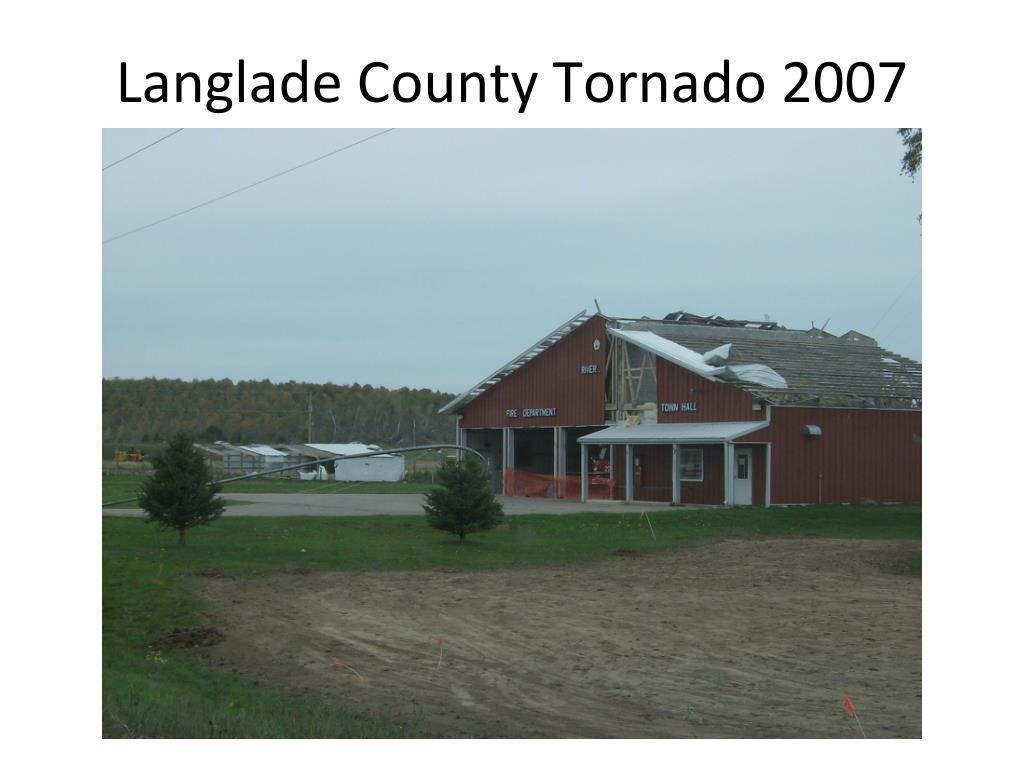 Langlade County Tornado 2007