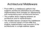 architectural middleware11