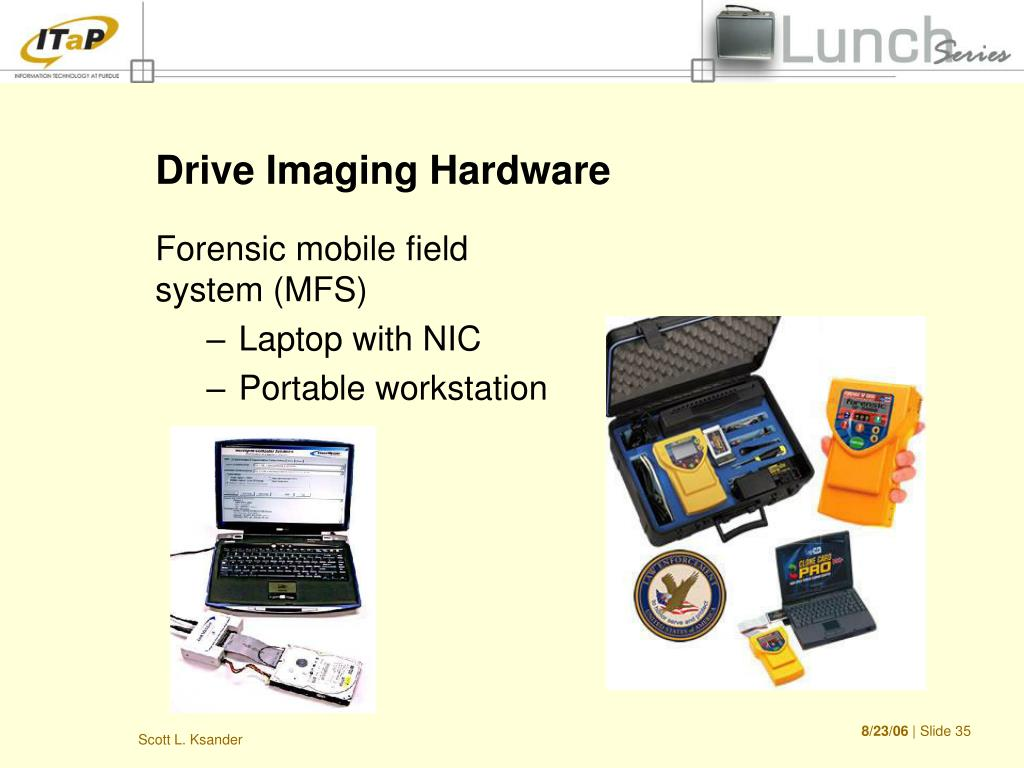 Drive Imaging Hardware