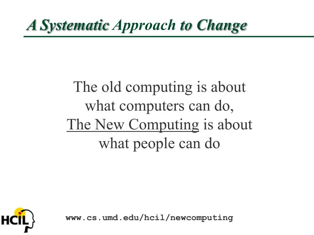 A Systematic
