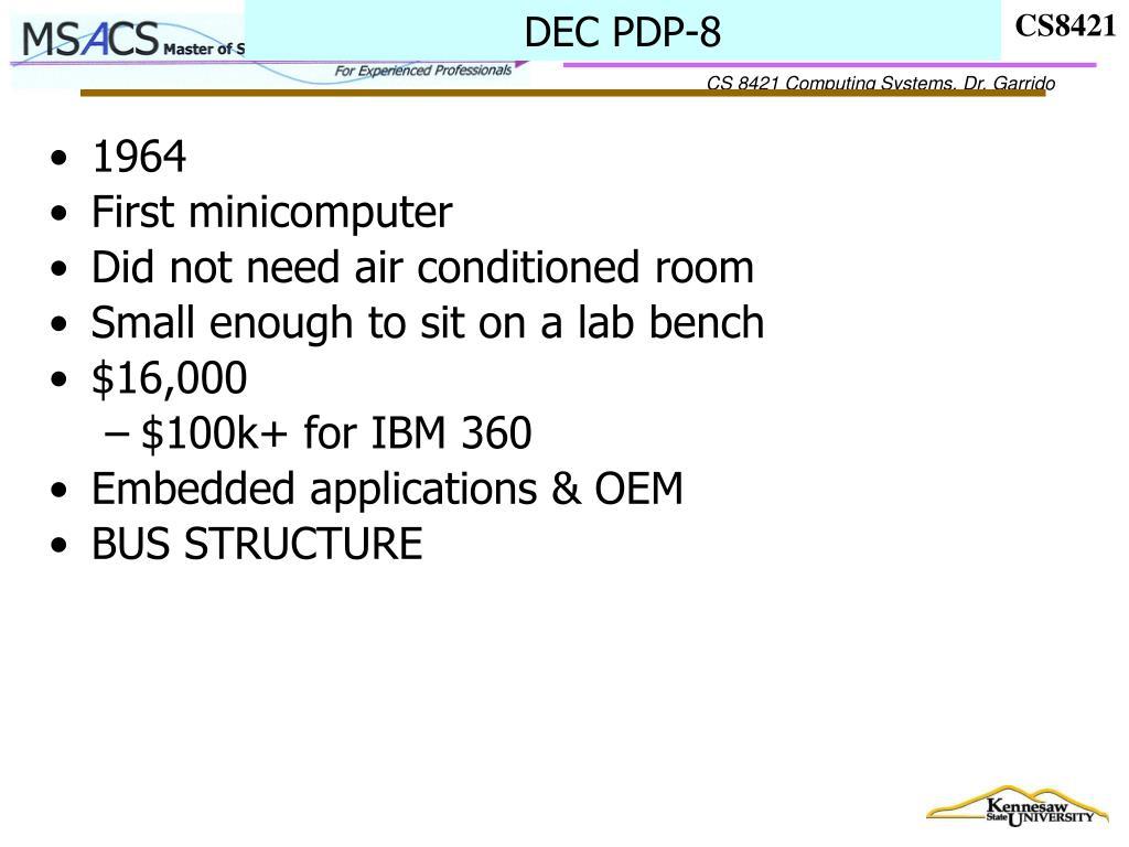 DEC PDP-8