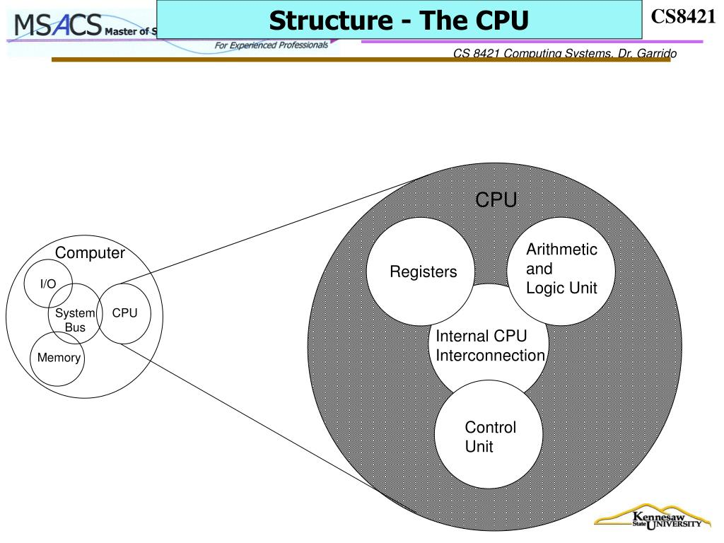 Structure - The CPU