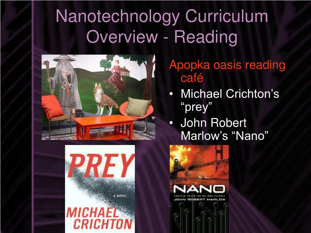 Nanotechnology Curriculum Overview - Reading