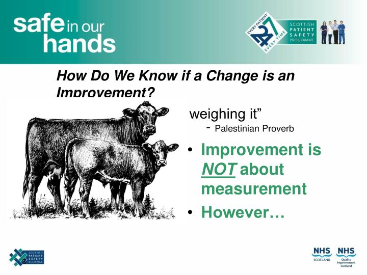 How do we know if a change is an improvement l.jpg