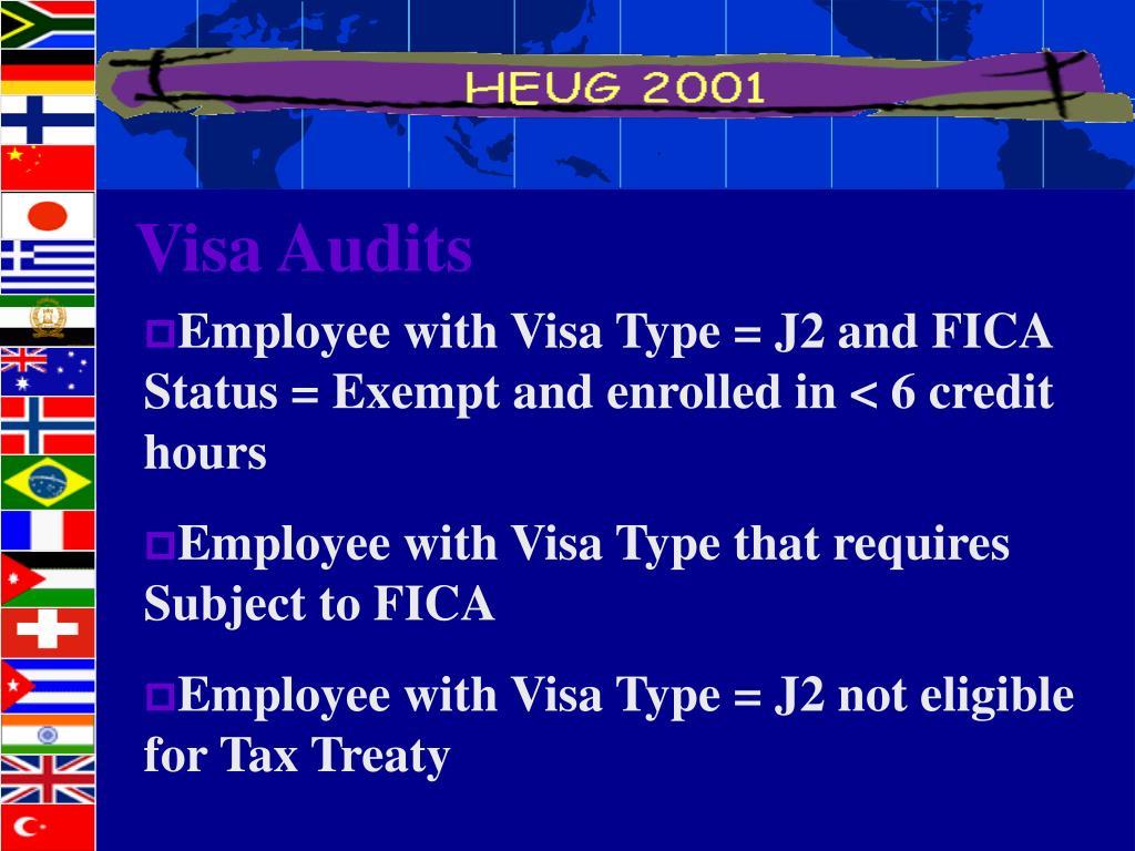 Visa Audits