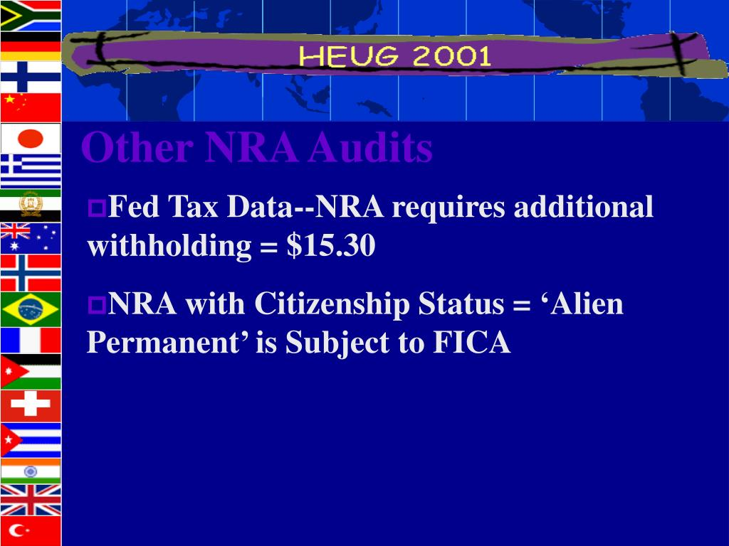 Other NRA Audits