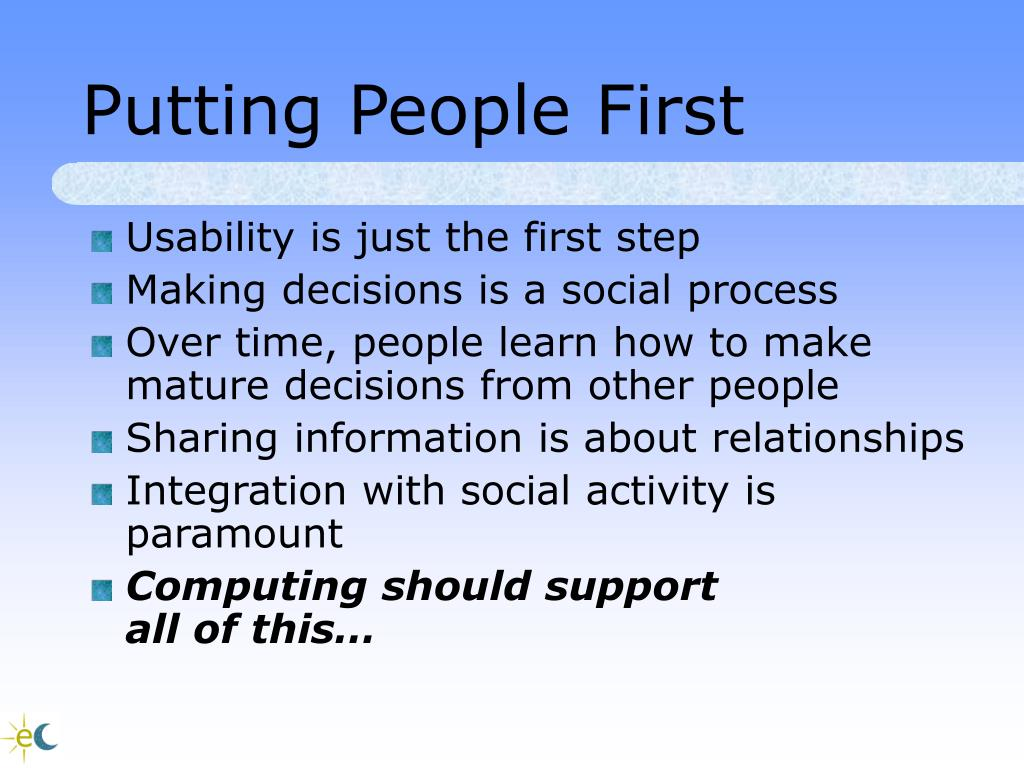 Putting People First