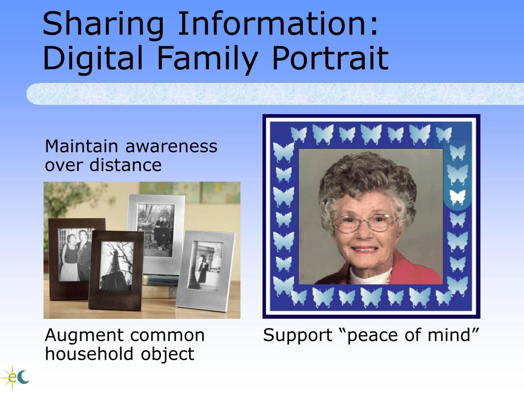 Sharing Information: