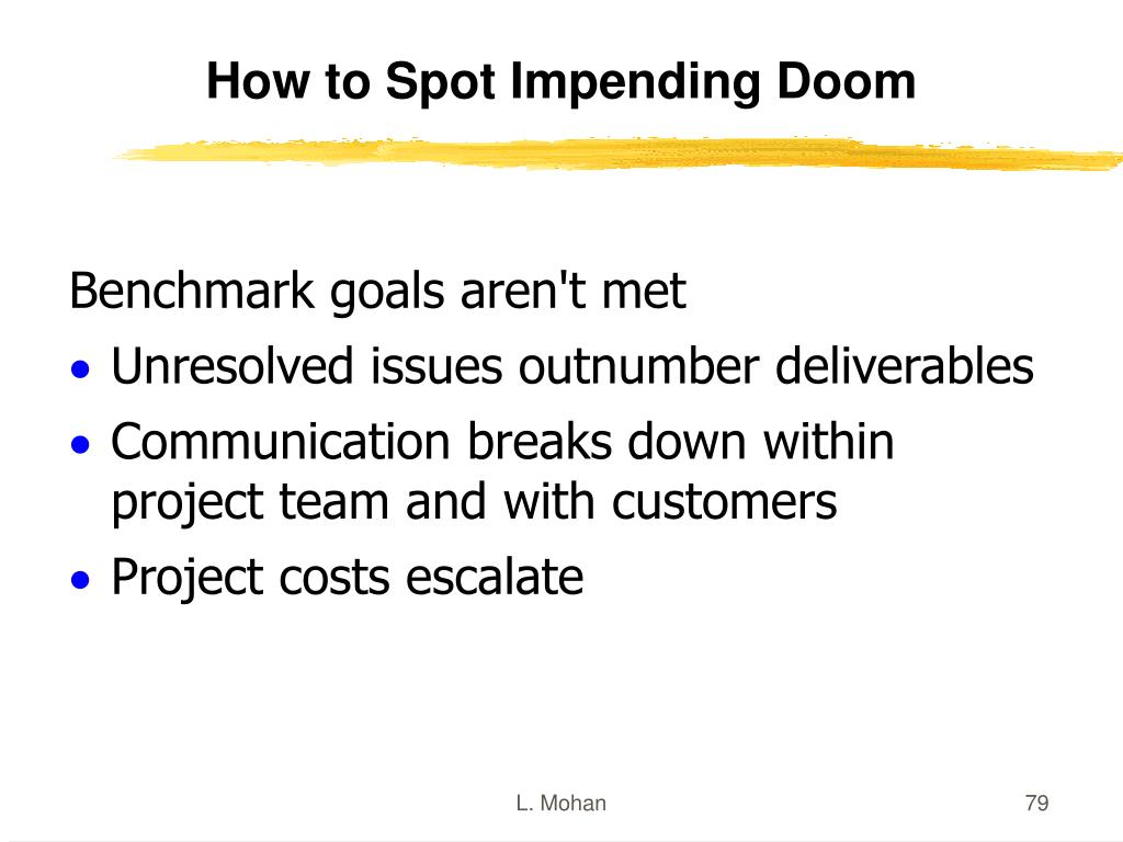 How to Spot Impending Doom