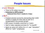 people issues