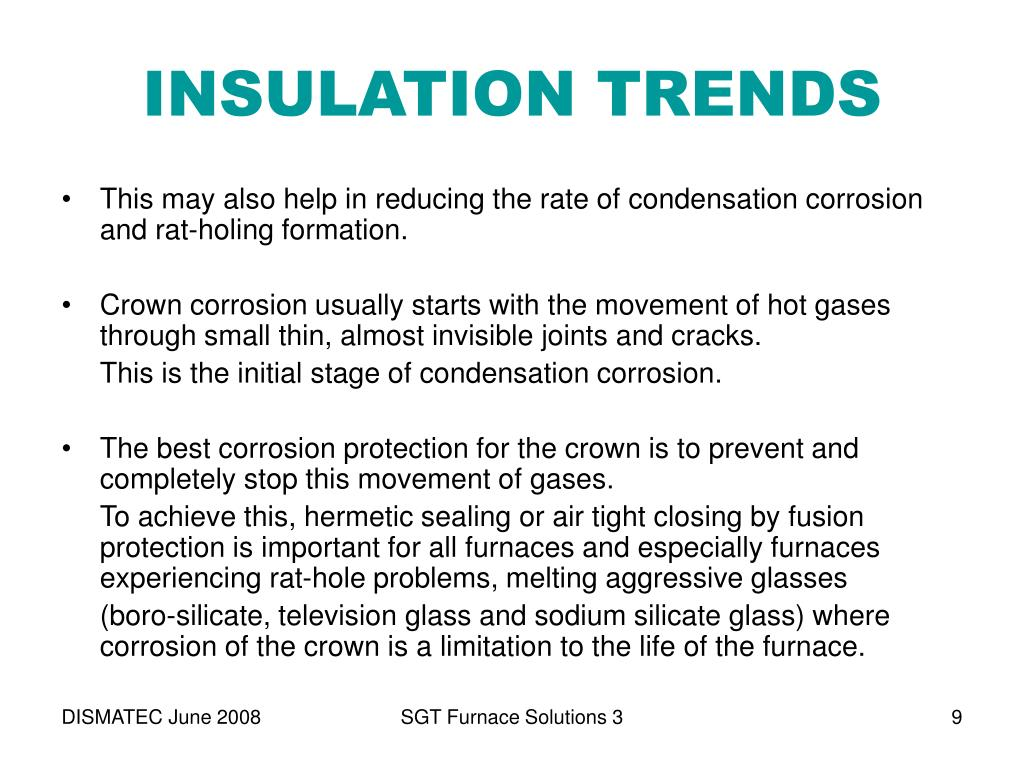 INSULATION TRENDS
