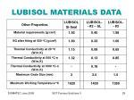 lubisol materials data29