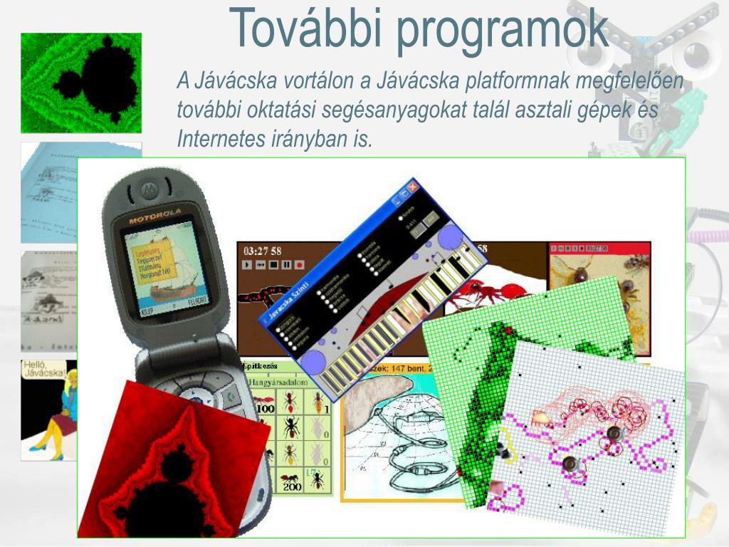 További programok