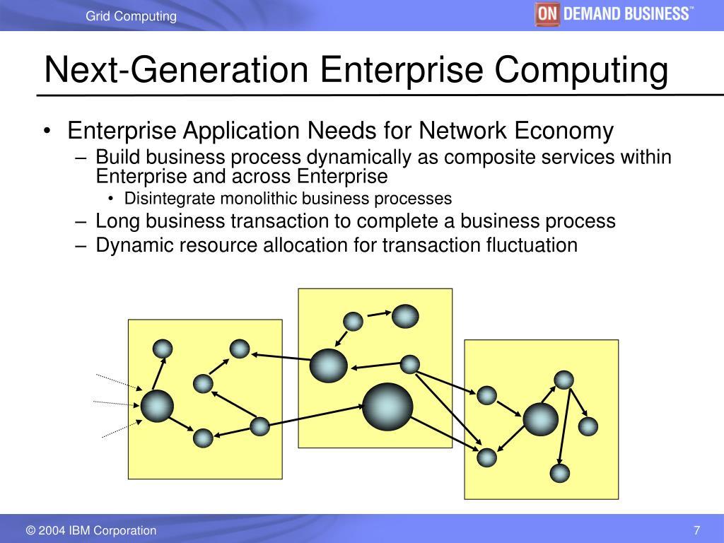 Next-Generation Enterprise Computing