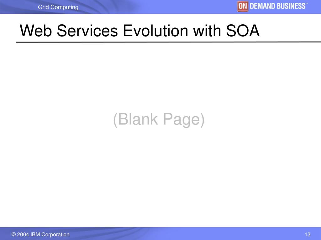 Web Services Evolution with SOA