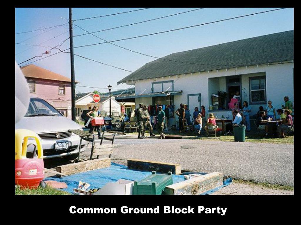 Common Ground Block Party